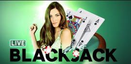 Blackjack dal vivo su Casino 888