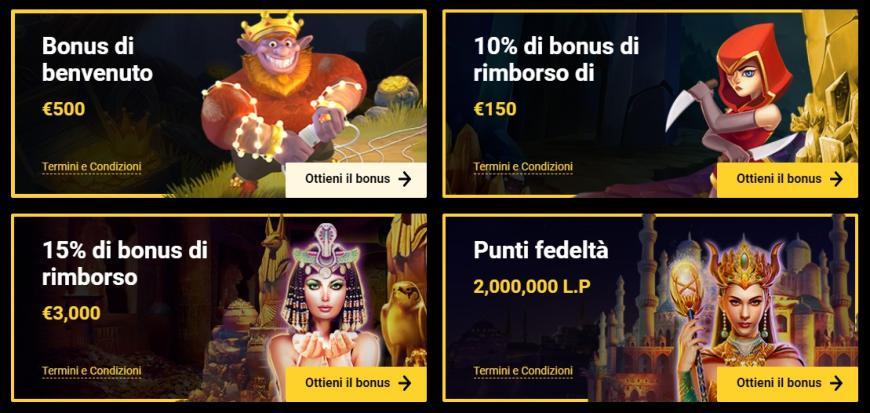 Bonus di Zet Casino