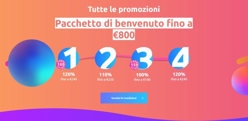 Cadoola Casino bonus